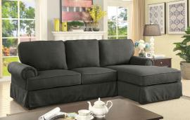 Badalona 6377GY Gray Sectional Chaise