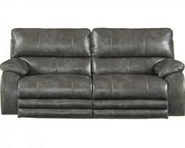 Sheridan Steel Collection 64271 by Catnapper Lay Flat Power Reclining Sofa