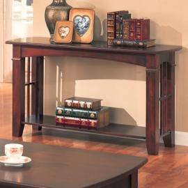 Coaster 700009 Merlot Finish Sofa Table