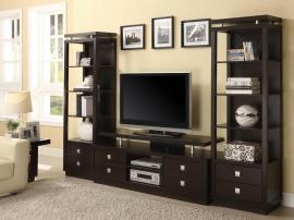 Palmetto Collection 700696 Entertainment Wall Unit