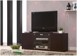 Elias Collection 700886 Cappuccino Finish TV Stand