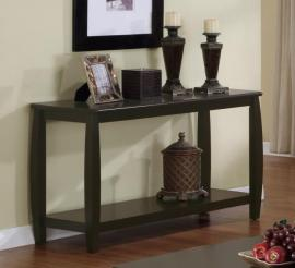 Coaster 701079 Transitional Espresso Sofa Table