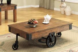 Coaster 701458 Rusty Grey Coffee Table