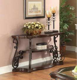 Coaster 702449 Deep Merlot Sofa Table