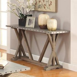 Coaster 703749 Driftwood Sofa Table