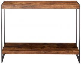Coaster 704029 Rustic Wood & Metal Sofa Table