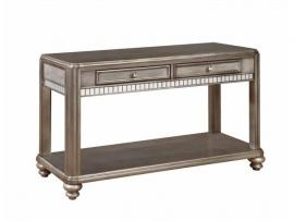 Coaster 704619 Metallic Platinum Finish Sofa Table