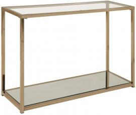 Coaster 705239 Sofa Table with Mirrored Shelving