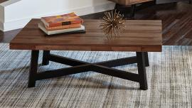 Scott Living 705498 Naomi Ash Black Finish Coffee Table