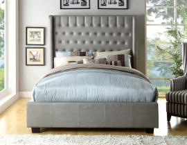 Mira Grey Collection 7055GR California King Bed Frame
