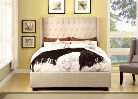 Mira Ivory Collection 7055IV King Bed Frame