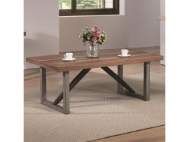 Coaster 705648 Rustic Brown Coffee Table