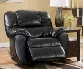 Dylan Collection 7060425 Black Rocker Recliner