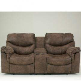 Alzena-Gunsmoke by Ashley 71400-94 Reclining Loveseat