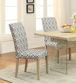 Glassden by Acme 71907 Dining Chair Set of 2