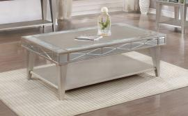 Coaster 720888 Mercury Finish Coffee Table