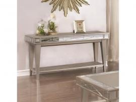 Coaster 720889 Mercury Finish Sofa Table