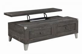 Coaster 722268 Dark Grey Lift Top Coffee Table