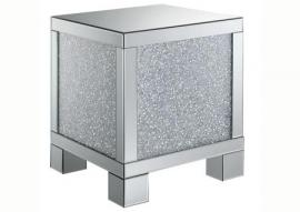 Coaster 722497 Glam Mirrored End Table