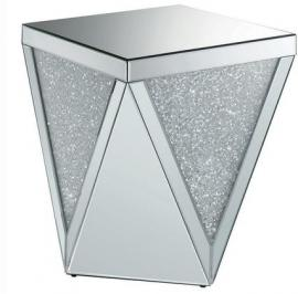 Coaster 722507 Glam Mirrored End Table