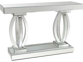 Coaster 722519 Clear Mirror Sofa Table