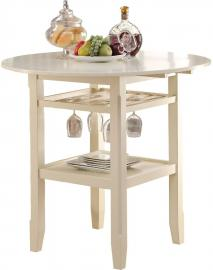 Tartys by Acme 72545 Cream Counter Height Table