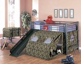 Nicholas Collection 7470 GI Joe Loft bunk Bed