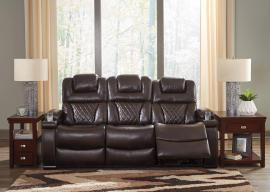 Warnerton-Chocolate by Ashley 75407-15 Power Reclining Sofa