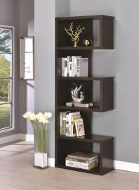 Marilyn Collection 800069 Cappuccino Bookcase