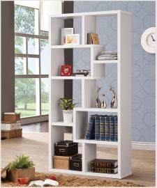 Jane Collection 800136 White Bookcase