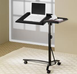 Coaster 800215 Black Laptop Stand