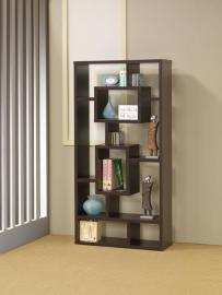 Chad Collection 800259 Cappuccino Bookcase