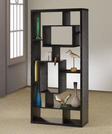 Olivia Collection 800262 Black Bookcase
