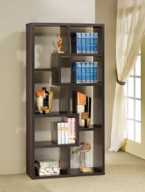 Jane Collection 800264 Cappuccino Bookcase