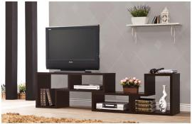 Capri Collection 800329 Cappuccino Contemporary TV Stand