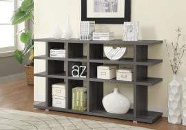 Kristen Collection 800359 Weathered Grey Bookcase