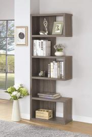 Marilyn Collection 800552 Weathered Grey Bookcase