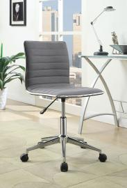 Task 800737 Grey & Chrome Office Chair