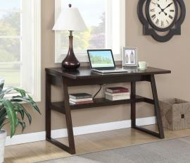 Cheryl Collection 801139 Brown Flip-Top Writing Desk