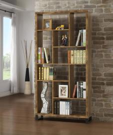 Janessa Collection 801236 Ten-Shelf Bookcase
