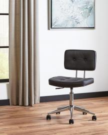 Scott Living 801289 Black Leatherette Office Chair