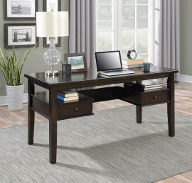 Carly Collection 801325 Grey Writing Desk