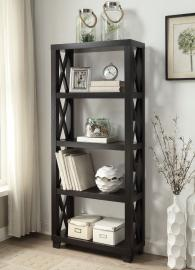 Tyler Collection 801353 Cappuccino Bookcase