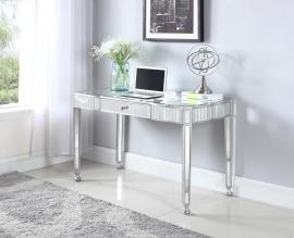 Elisa Collection 801671 Silver and Crystal Writing Desk
