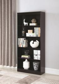 Rhonda Collection 801803 Cappuccino Bookcase