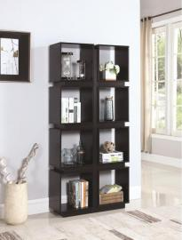 Kirsten Collection 801840 Cappuccino Bookcase