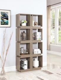 Kirsten Collection 801845 Dark Taupe Bookcase