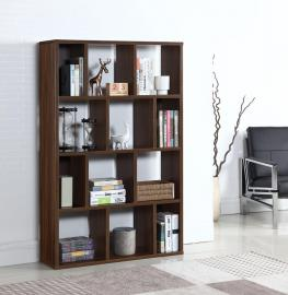 Emmett Collection 801867 Dark Walnut Bookcase