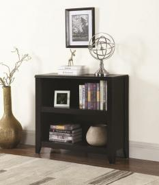 Alonzo Collection 801905 Black Bookcase
