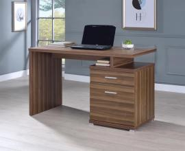 Meilani Collection 802109 Walnut-Finish Office Desk